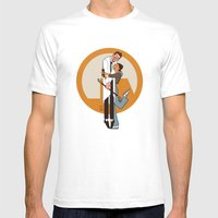 Lambda is for Love Mens Fitted Tee White SMALL