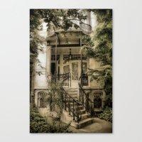 Romantic Door Canvas Print