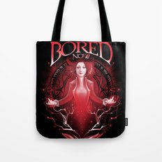 Bored Now Tote Bag