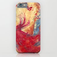 iPhone & iPod Case featuring The Last Mammoth by David Finley