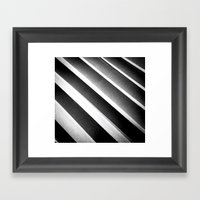 Paper Noir Framed Art Print