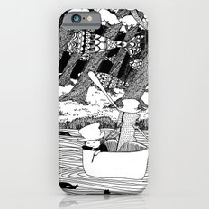 Traveling through the forest in the cup iPhone 6 Slim Case