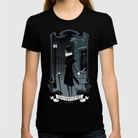 Jack the Ripper Womens Fitted Tee Black SMALL