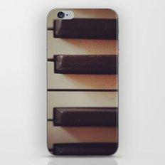 Vintage Piano iPhone & iPod Skin