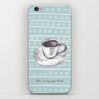 My Special Tea iPhone & iPod Skin