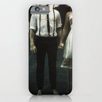 water iPhone & iPod Cases featuring abyss of the disheartened : IV by Heather Landis