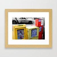 got news Framed Art Print