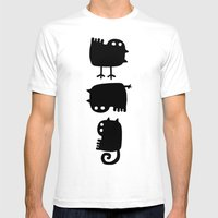 Diversity Mens Fitted Tee White SMALL
