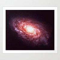 Distant Galaxy Art Print