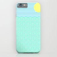 iPhone Cases featuring COASTLINE by Brian Biles