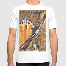 Winchester Rifle Mens Fitted Tee SMALL White