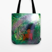 Bayou Mermaid Tote Bag