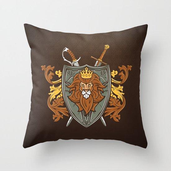 One True King Throw Pillow
