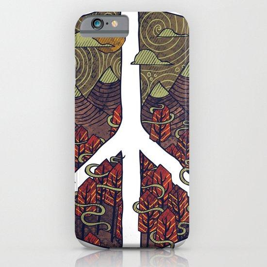 Peaceful Landscape iPhone & iPod Case