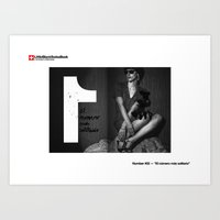 #02 - El número más Solitario Art Print
