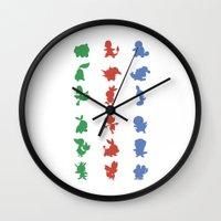 Starters Wall Clock
