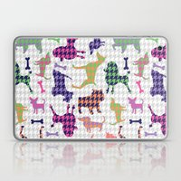 Houndstooth Hounds Laptop & iPad Skin