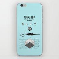 Food chain iPhone & iPod Skin