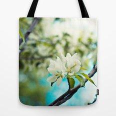 tropical flower. Tote Bag