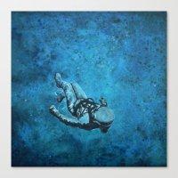 Viaje Al Espacio 3 Canvas Print