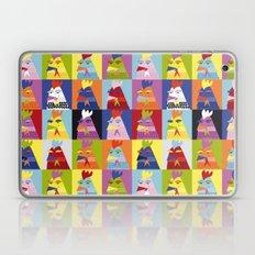 Pop Art Chickens Laptop & iPad Skin