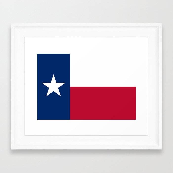 The state flag of texas the lone star flag of the for Lone star home decor