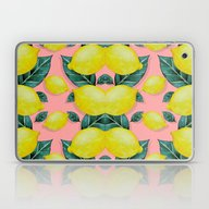 Laptop & iPad Skin featuring WHEN LIFE GIVES YOU LEMO… by Karla Amber