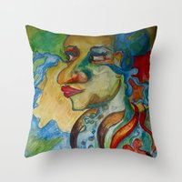 Tears of the Sea Throw Pillow