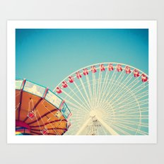Lazy Afternoon of Fun Art Print