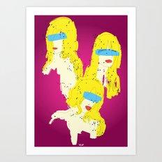 3 Woman Art Print