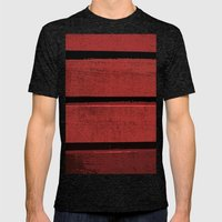 wall Mens Fitted Tee Tri-Black SMALL