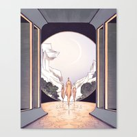 The Heights of Ease Canvas Print