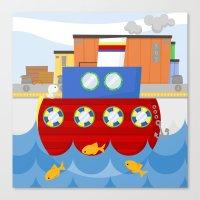 SHIP (AQUATIC VEHICLES) Canvas Print