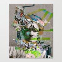 Hoodoo Heroine Canvas Print