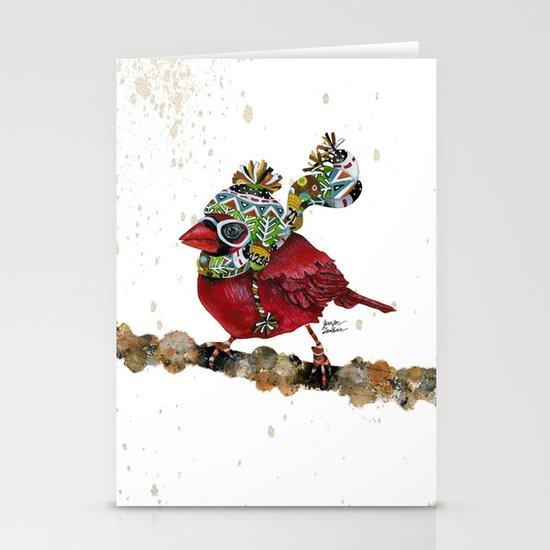 Cardinal Blaze 3 Stationery Card