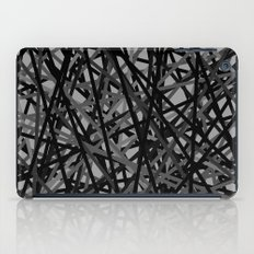Kerplunk Extended Black and White iPad Case