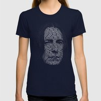 Spells: The Always Good … Womens Fitted Tee Navy SMALL
