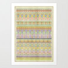 TROPIC THUNDER / PATTERN SERIES 004 Art Print