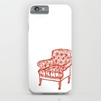 iPhone & iPod Case featuring Red Chair by Zach Hoskin