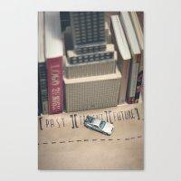 delorean rides Canvas Print