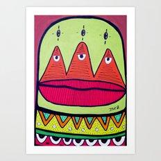 minor fuss Art Print