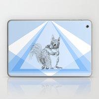 Squirrel Stealing Nuts Laptop & iPad Skin