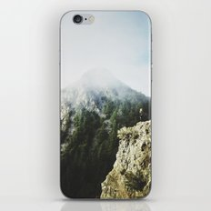She saw the mountain mist iPhone & iPod Skin