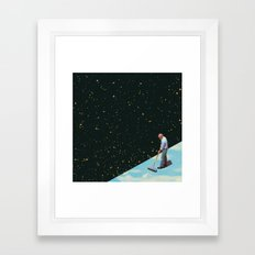 From night to day Framed Art Print