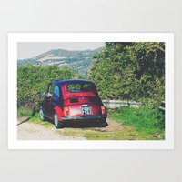 Italy- Umbria-Assisi Art Print