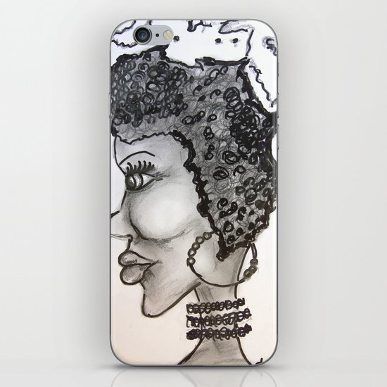 mother Africa iPhone & iPod Skin