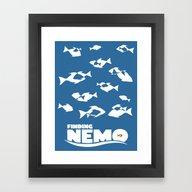 Finding Nemo Framed Art Print