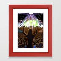 The Concert Framed Art Print