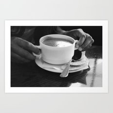 some soup Art Print