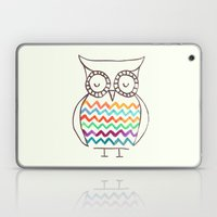 Chevron Owl Laptop & iPad Skin